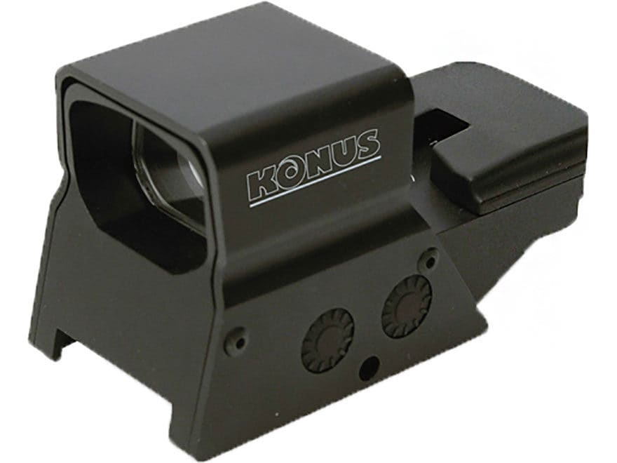 Konus SightPro R-8 Red Dot Sight 1x Adjustable Reticle Rechargeable Battery with Dual M...