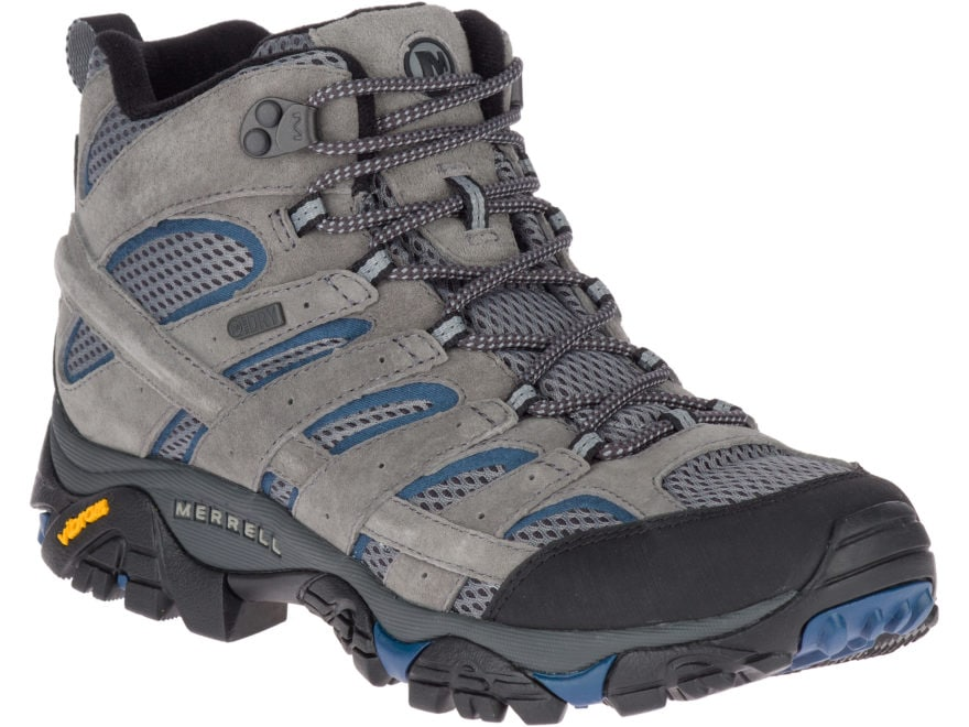 "Merrell Moab 2 Mid 5"" Waterproof Hiking Boots Leather/Synthetic Men's"