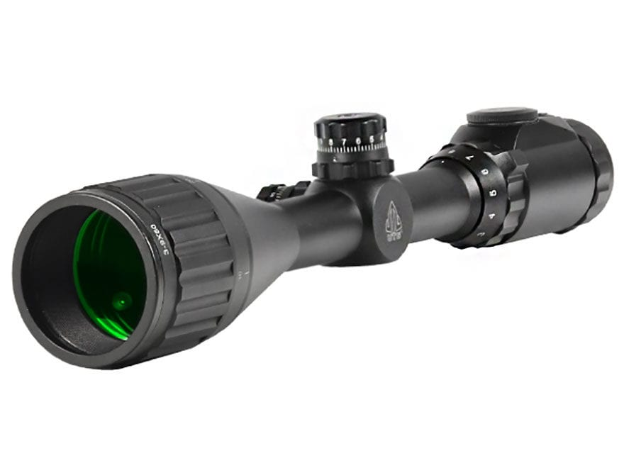 UTG True Hunter Scope 3-9x 50mm 36 Color Illuminated Mil-Dot Reticle with Max Strength ...