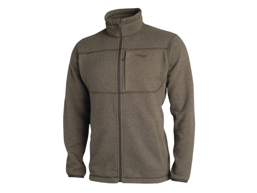 Sitka Gear Men's Fortitude Full Zip Sweater Polartec Polyester