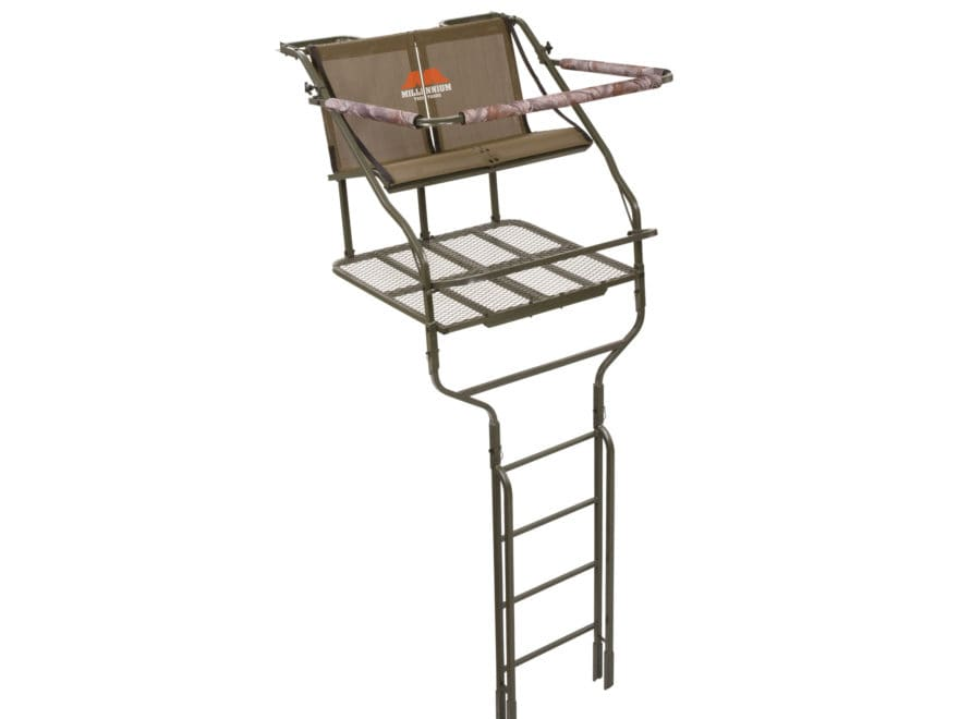 Millennium Treestands L-220 18' Double Ladder Treestand Steel