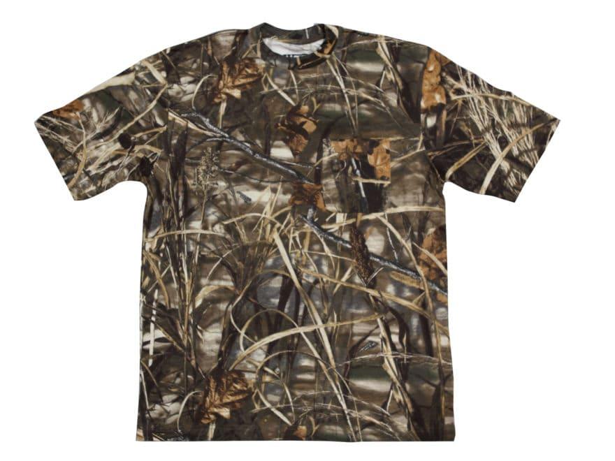 6517c590 Walls Legend Men's Pocket T-Shirt Short Sleeve Cotton Realtree Xtra