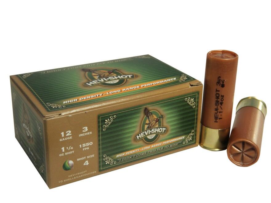 Hevi-Shot Duck Waterfowl Ammunition 12 Gauge Non-Toxic Shot