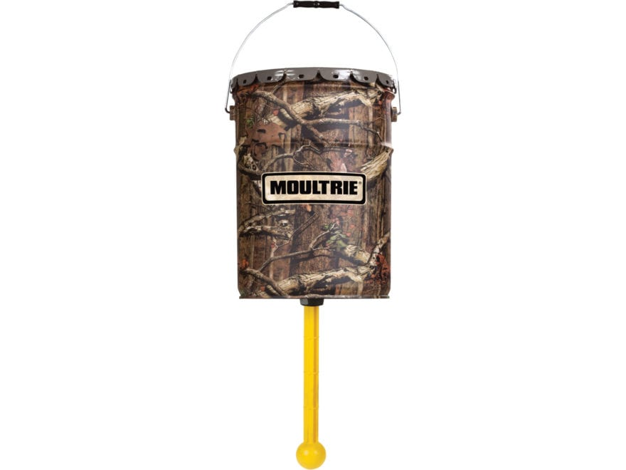 Moultrie Easy Feed Hanging Game Feeder 6.5 Gallon Mossy Oak Break Up Infinity Camo