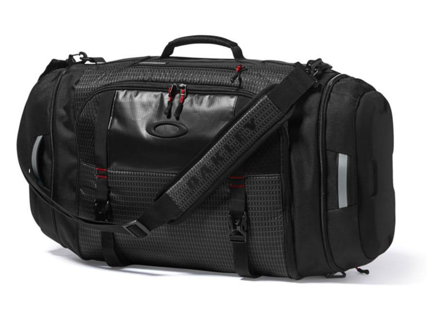 Oakley Link Duffel Bag Jet Black