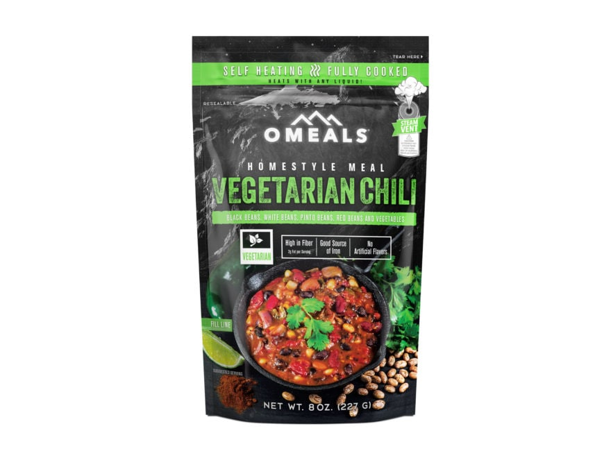 Omeals Vegetarian Chili Self Heating Meal
