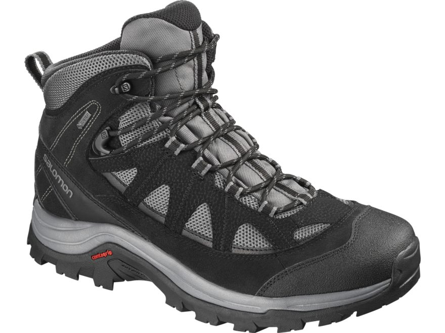 """Salomon Authentic LTR GTX 6"""" Waterproof GORE-TEX Hiking Boots Leather/Synthetic Men's"""