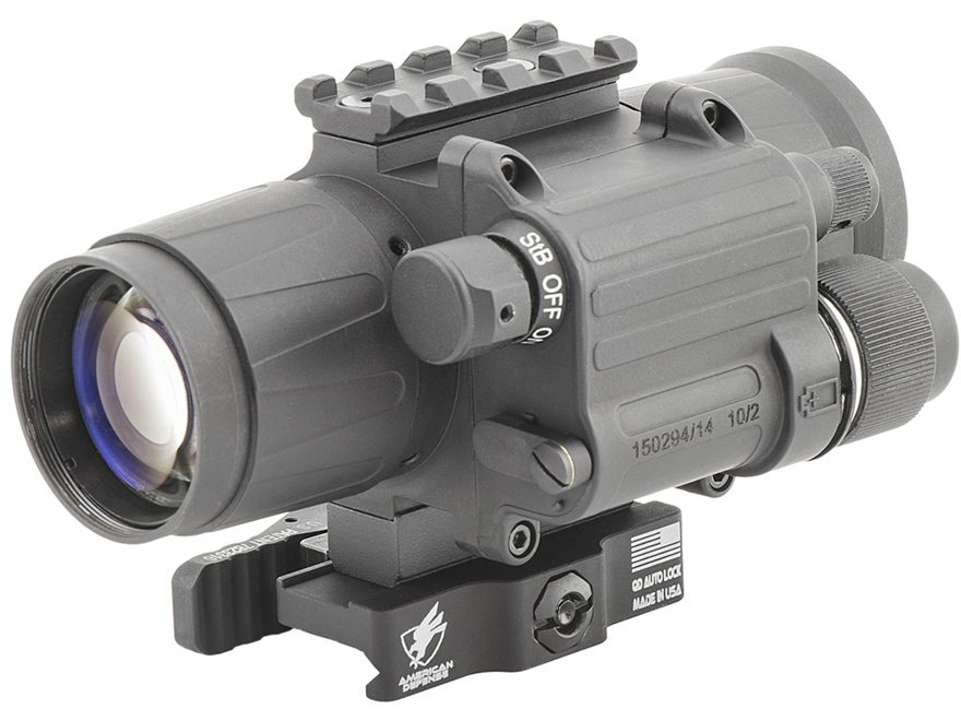 Armasight CO-Mini Gen 3A Night Vision Clip-on Device with Remote & Picatinny/Weaver-Sty...