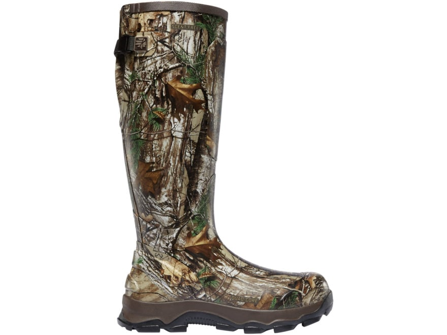 """LaCrosse 4XBurly 18"""" Hunting Boots Rubber Men's"""