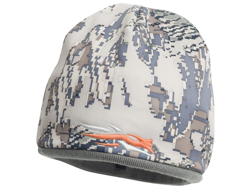 Sitka Gear Reversible Windstopper Beanie Woodsmoke and Gore Optifade Open Country Camo