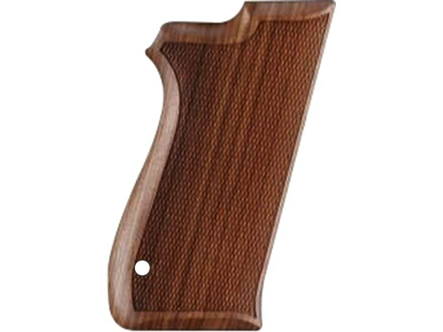 Hogue Fancy Hardwood Grips S&W 4506, 1006, 1066, 1046, 1086, 4546, 4566, 4586 Checkered