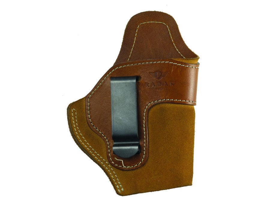"""Chiappa Inside the Waistband Holster Right Hand Chiappa Rhino 2"""" Barrel Suede Leather B..."""