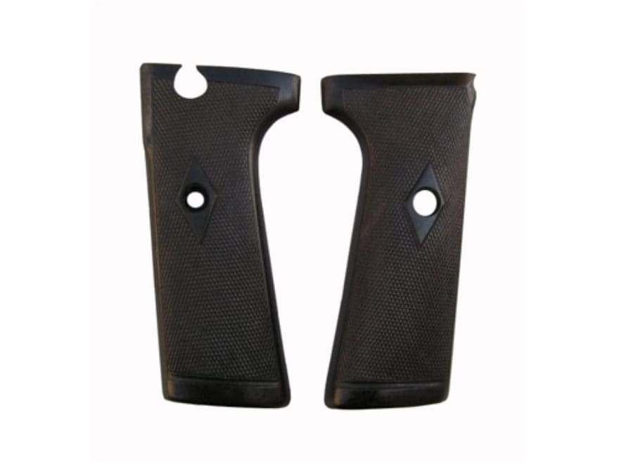 Vintage Gun Grips Webley Mark I Semi-Automatic without Escutcheon Polymer Black
