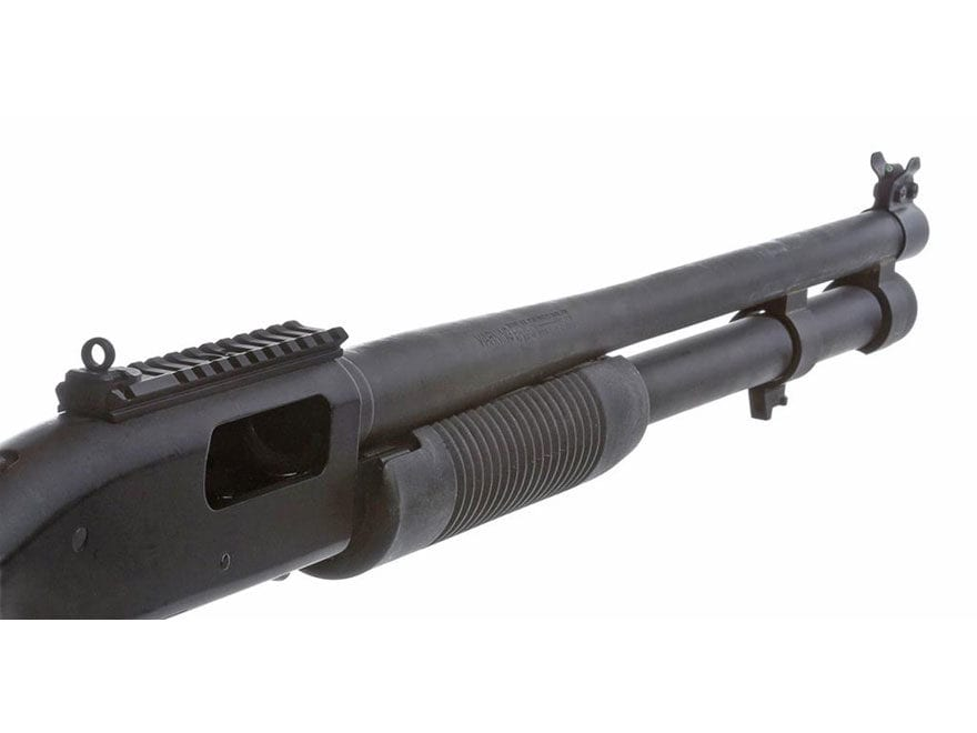XS Shot Rail Picatinny Rail with Rear Sight, Barrel Band Tritium Front Sight Mossberg 5...
