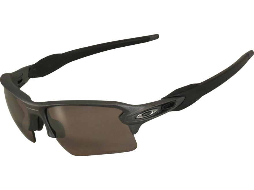 141ce779eca0 Oakley Flak 2.0 XL Polarized Sunglasses Steel Frame Prizm Daily Lens