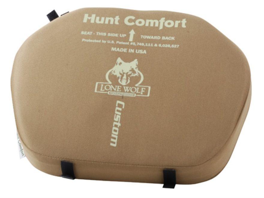 Lone Wolf Hunt Comfort Treestand Seat Cushion Foam Coyote - MPN: HCSP