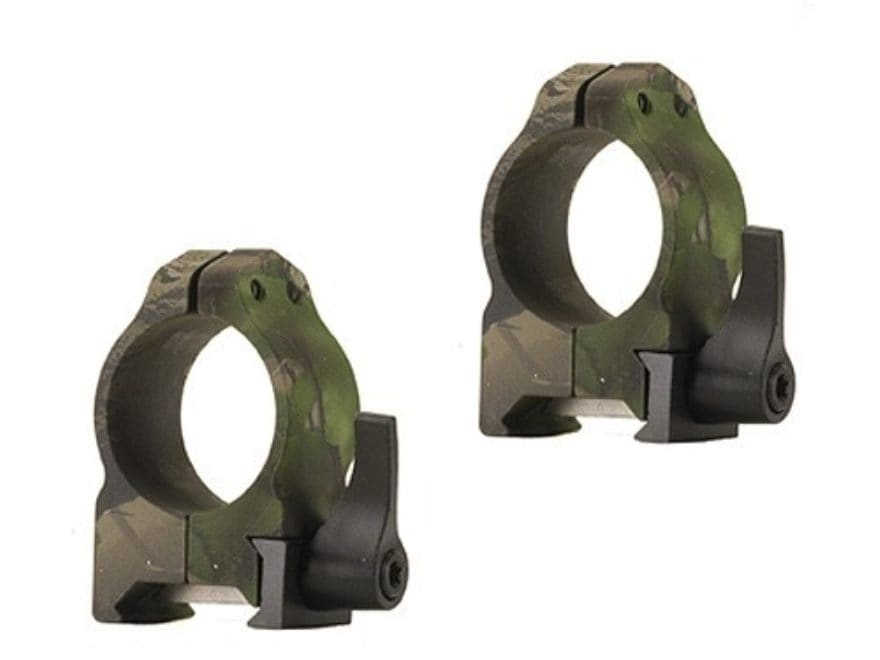 Nikon 1 Quick Release Weaver Style Rings Medium Realtree