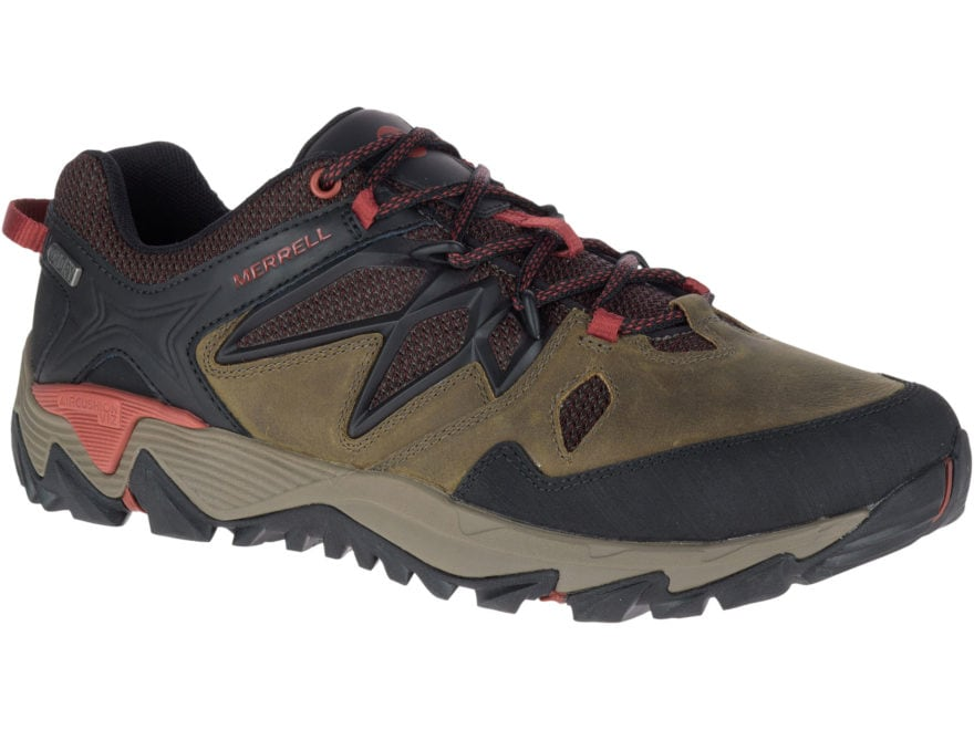 "Merrell All Out Blaze 2 4"" Hiking Shoes Leather/Nylon Men's"