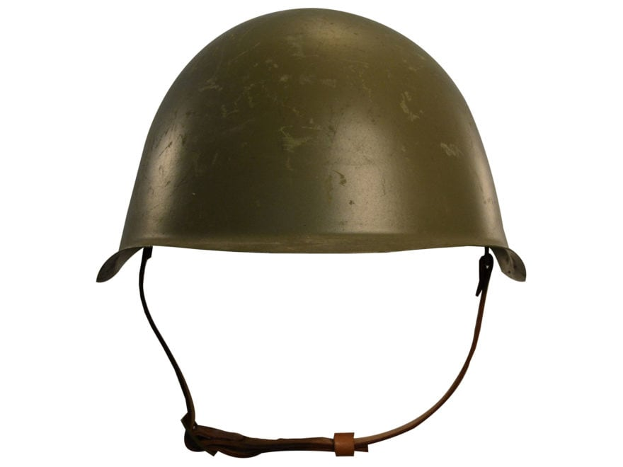 Military Surplus Czech M52 Helmet Grade 2 Steel