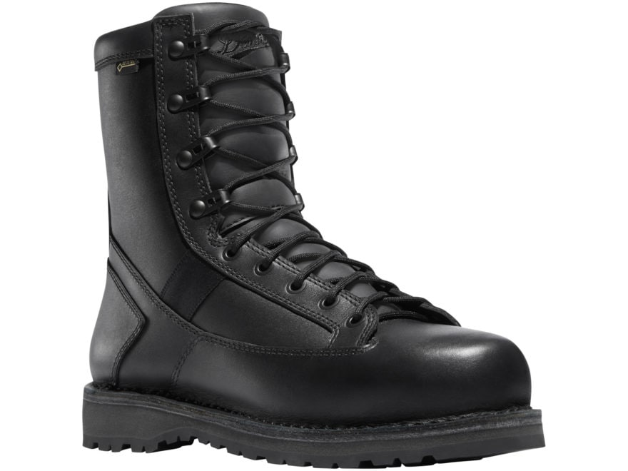 "Danner Stalwart 8"" Waterproof GORE-TEX Side-Zip Tactical Boots Leather/Nylon Black Men's"