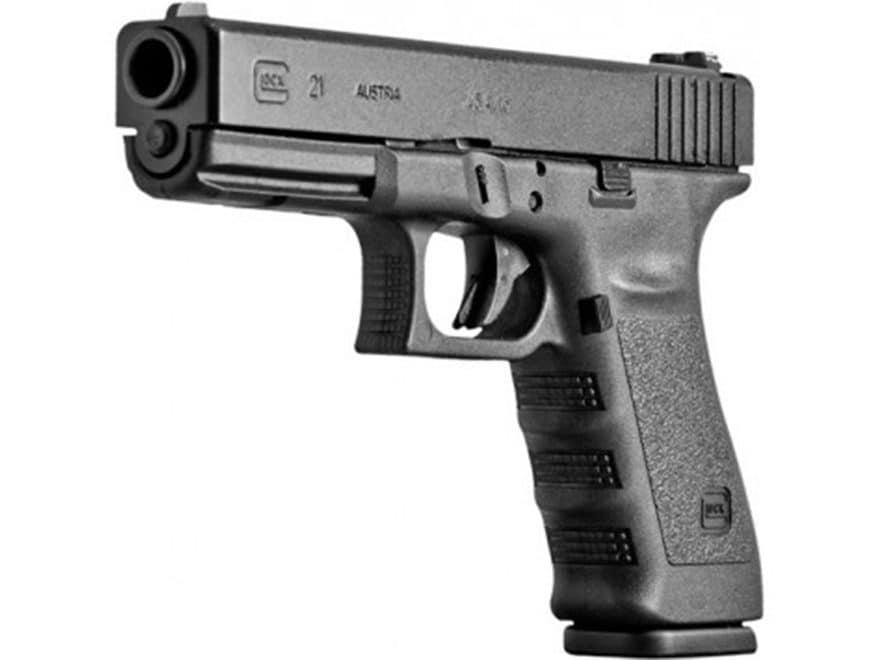 Glock 21SF Gen 3 Pistol 45 ACP Fixed Sights Polymer Black