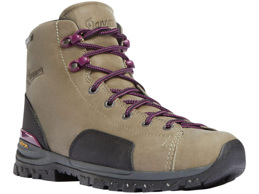 """Danner Stronghold 6"""" Waterproof Work Boots Leather Brown Women's"""