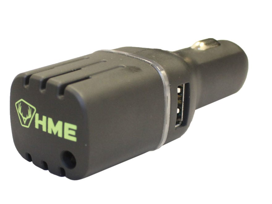 HME Vehicle Scent Elimination Device with Dual USB