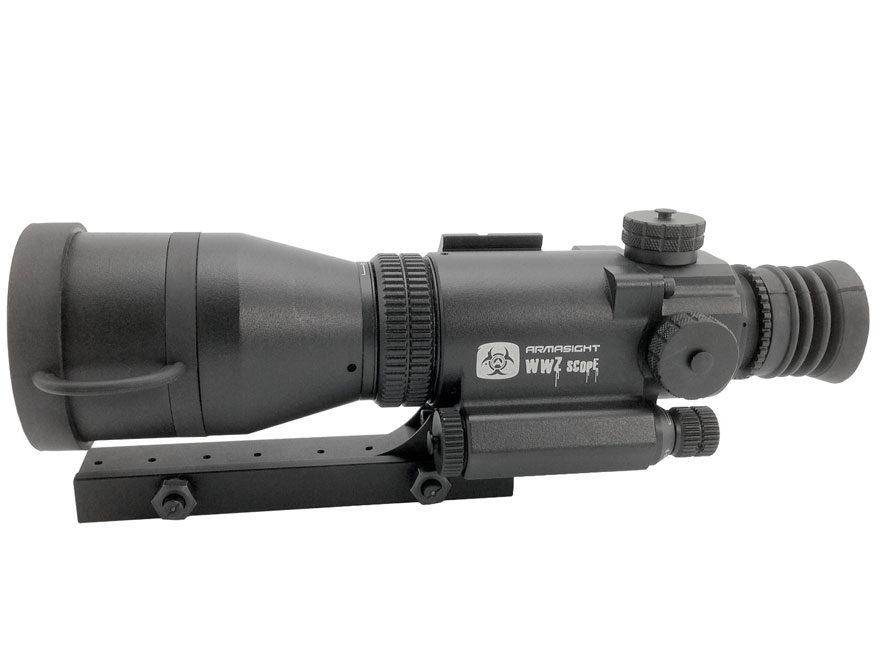 Armasight WWZ Gen 1+ Night Vision Rifle Scope 4x Picatinny/Weaver-Style Mount Matte