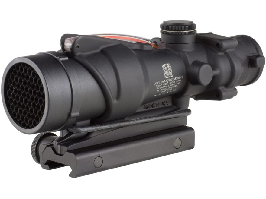 Trijicon ACOG TA31RCO BAC Rifle Scope 4x 32mm A4 Military Version Dual-Illuminated Red ...