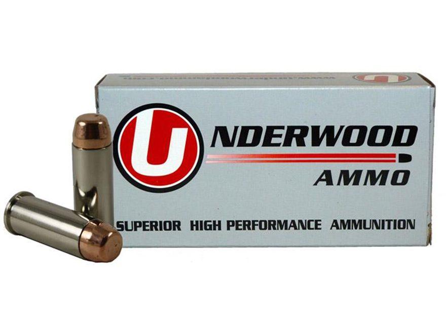 Underwood Ammunition 44 Special 245 Grain Full Metal Jacket Box of 50