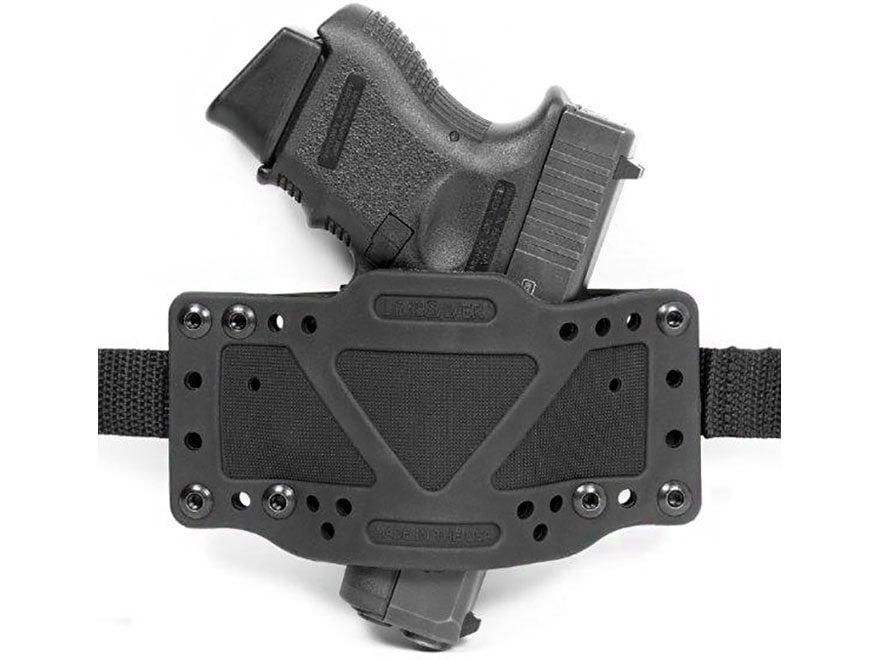 Limbsaver Cross-Tech Holster Ambidextrous Universal Fit Polymer Black