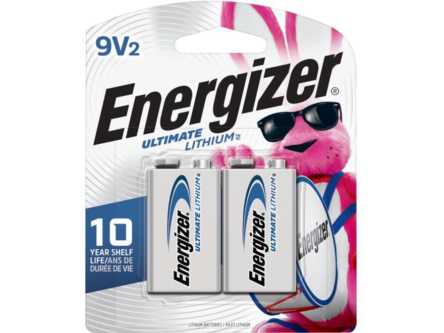 Energizer Ultimate Lithium Battery 9V 1000 mAH