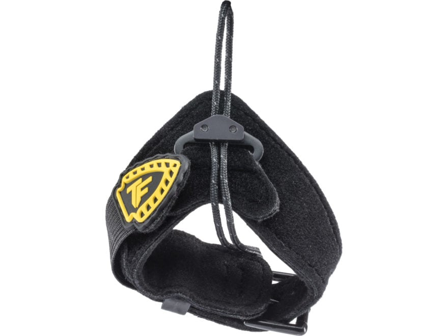 Tru-Fire Wrist Assist Buckle Strap for Handheld Bow Release Black