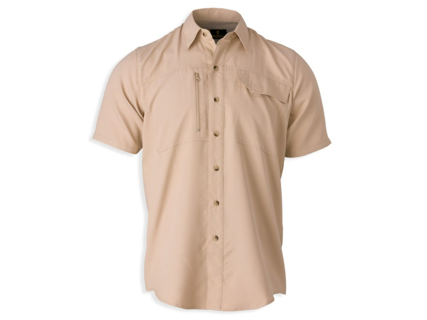 Browning Men's Phenix Shooting Shirt Short Sleeve Polyester