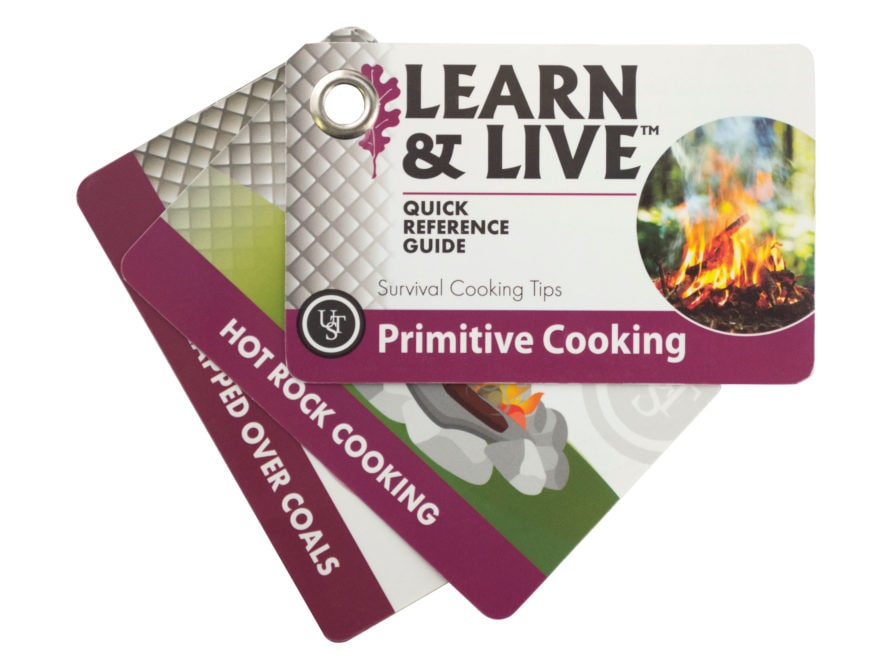 UST Learn & Live Primitive Cooking Cards