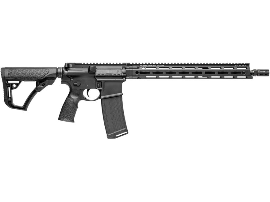 "Daniel Defense DDM4v7 LW Carbine 5.56x45mm NATO 16"" Barrel 32-Round M-LOK Polymer Black"