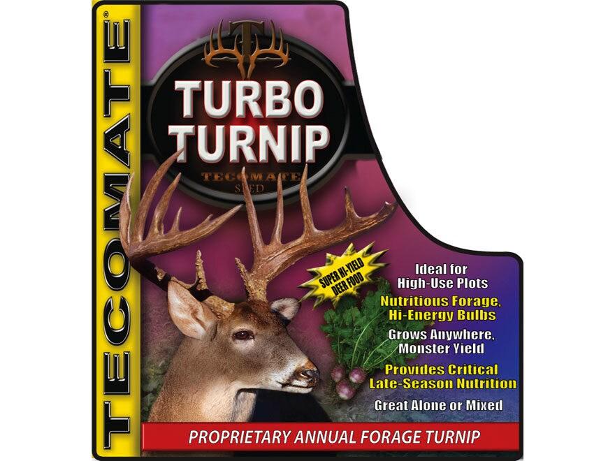 Tecomate Turbo Turnip Annual Food Plot Seed 2.75 lb