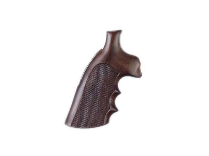Hogue Fancy Hardwood Grips with Finger Grooves Ruger Blackhawk, Single Six, Vaquero Che...