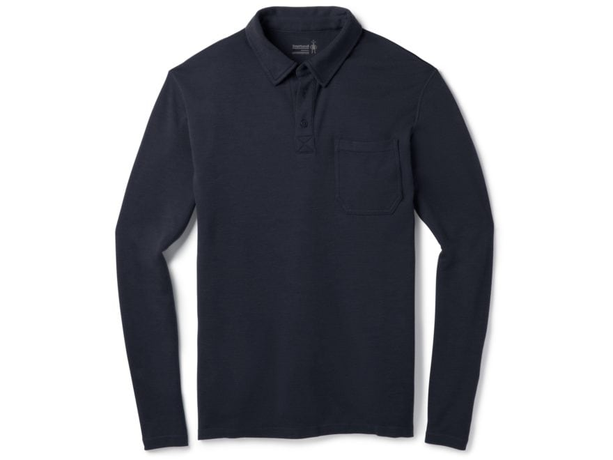 Smartwool Men's Merino 250 Polo Long Sleeve Merino Wool