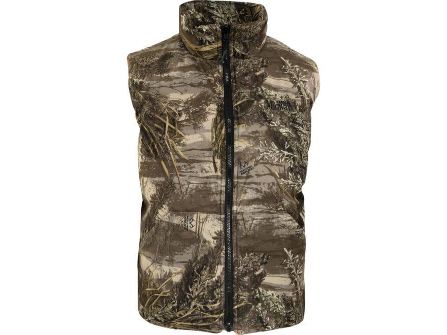 98bb1580b2950 MidwayUSA Men's Hunter's Creek Reversible Vest Realtree EDGE