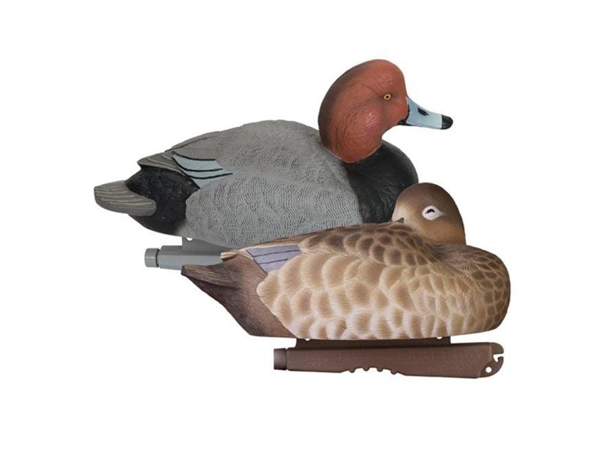 GHG Foam Filled Pro-Grade Redhead Duck Decoy Pack of 6