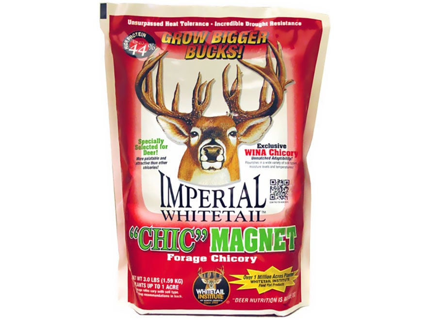 Whitetail Institute Imperial Chic Magnet Food Plot Seed 3 lb