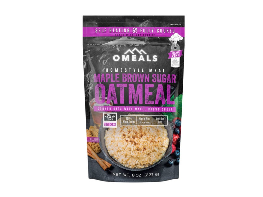 Omeals Maple Brown Sugar Oatmeal Self Heating Meal