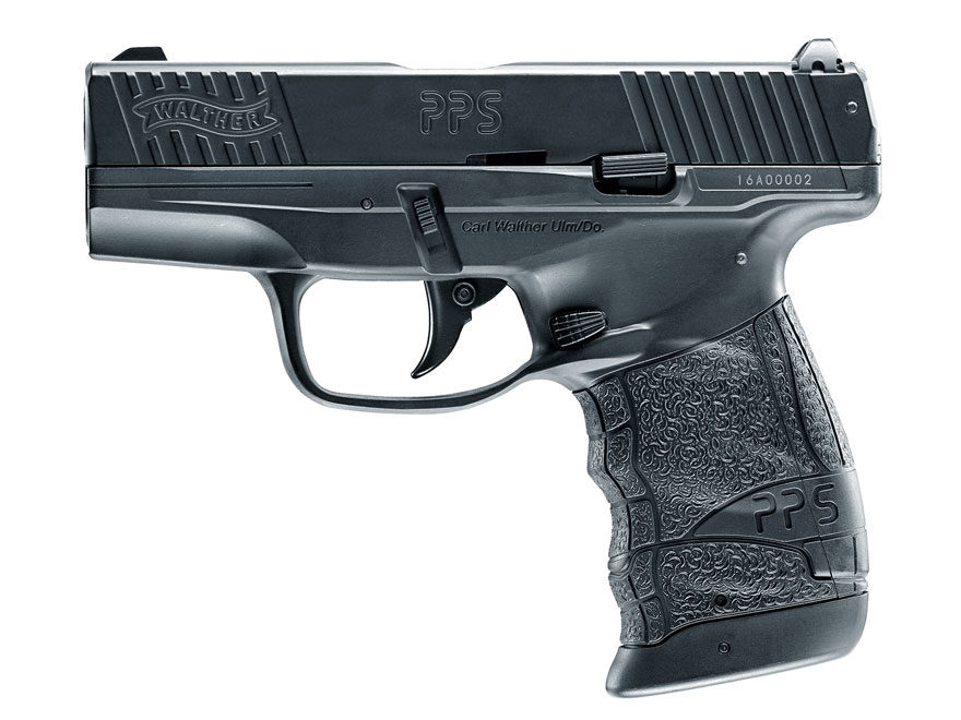 Walther PPS M2 Blowback Air Pistol 177 Caliber BB Black