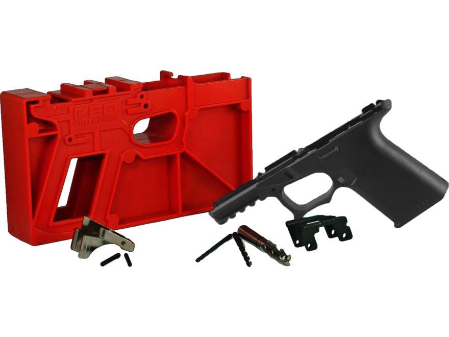 Polymer80 PF940Cv1 80% Pistol Frame Kit Glock 19 23 32 Polymer