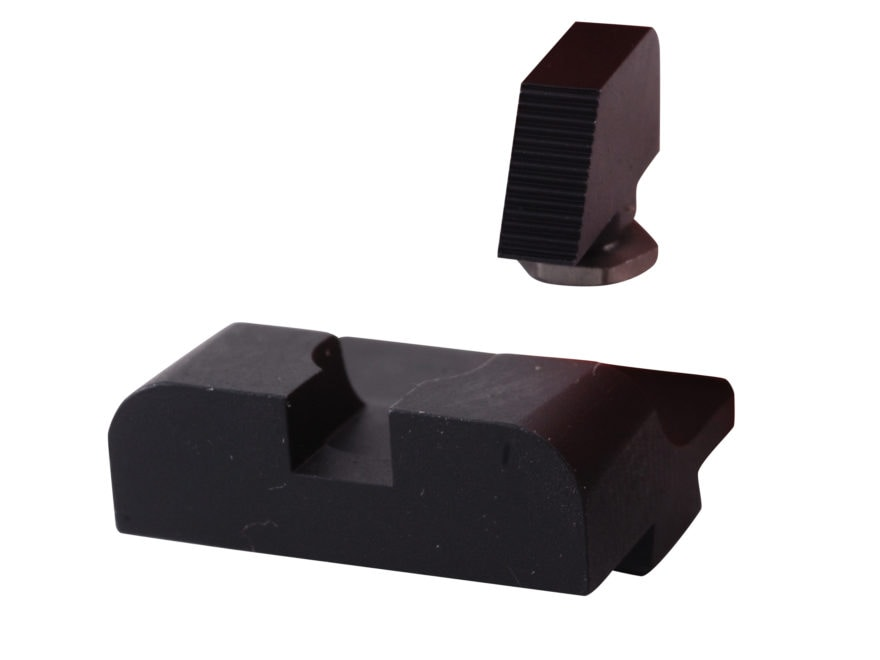 Warren Tactical Sight Set Glock 17, 19, 22, 23, 24, 34, 35 Sevigny Competition Rear, Se...