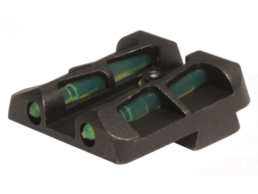 HIVIZ LITEWAVE Rear Sight Springfield Armory XD and XDM Steel Fiber Optic Red, Green, W...