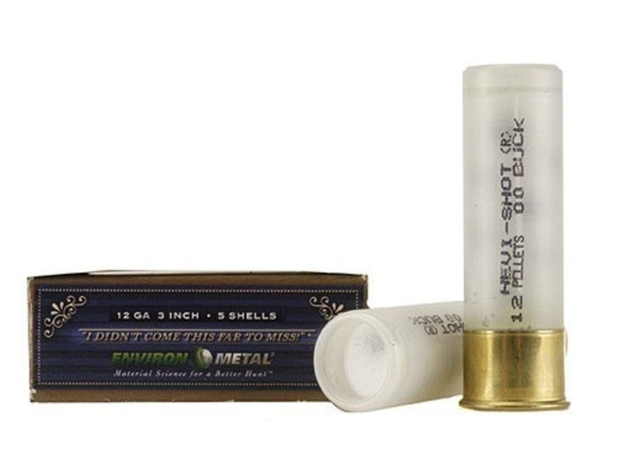 Hevi-Shot Dead Coyote Ammunition 12 Gauge Hevi-Shot Buckshot Non-Toxic