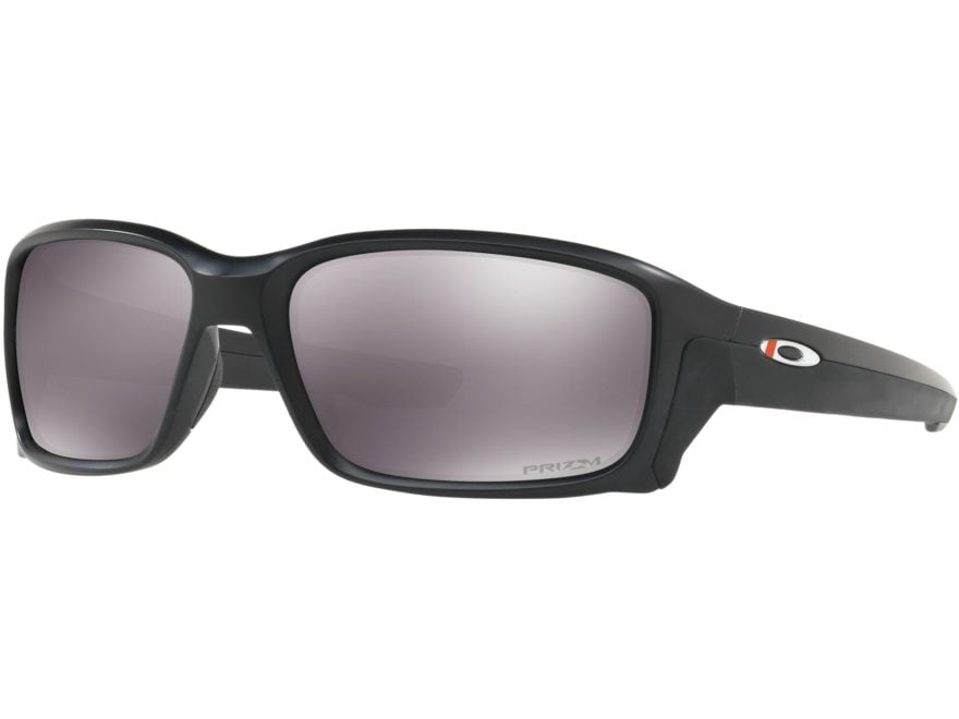 Oakley SI Straightlink Thin Red Line Sunglasses Black Frame/Prizm Gray Lens