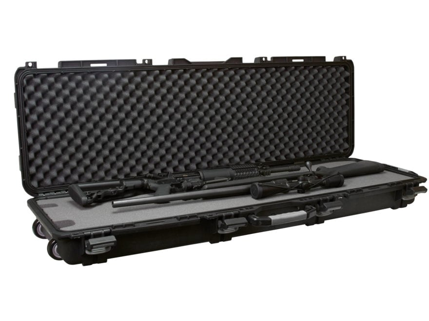 "Plano Military Spec Field Locker Double Rifle Case with Wheels 56-1/4"" x 18"" x 7-1/4"" P..."